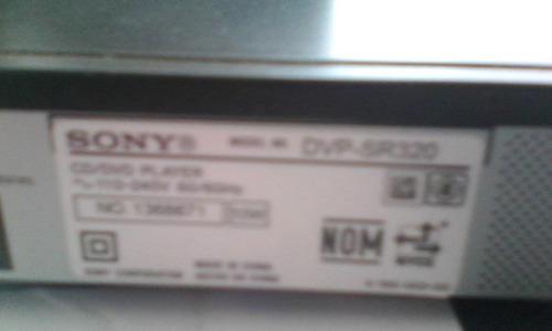 dvd sony dvpr320