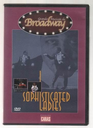 dvd sophisticated ladies - grandes musicais da broadway