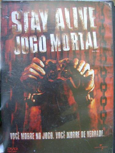 dvd stay alive  jogo mortal 43