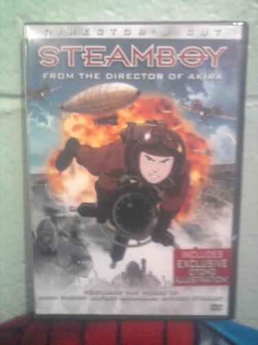 dvd steamboy anime caricaturas ghibli katzuhiro otomo manga