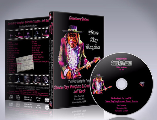dvd steve ray vaughan - the fire meets the fury 1989
