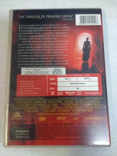 dvd stigmata filme suspense original