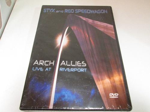 dvd stix and reo speddwagon arch allies live  nuevo cerrado