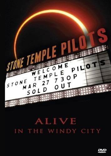 dvd stone temple pilots - alive in the windy city (lacrado)