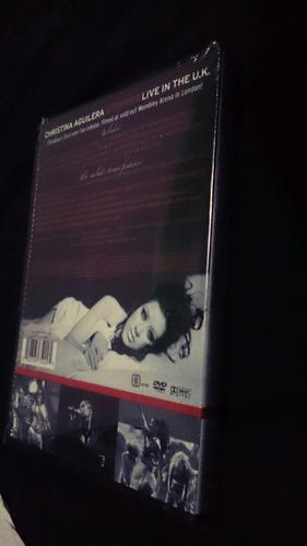 dvd stripped live in the uk de christina aguilera mexico