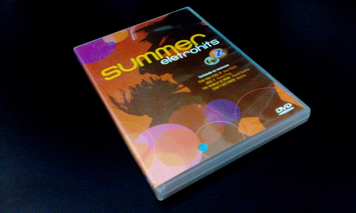 dvd summer eletrohits 7