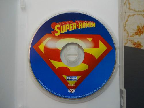 dvd super-homem coleção planeta colorido usado excelente