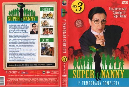 dvd super nanny 3 temporada completa