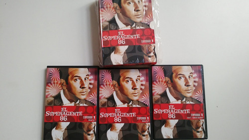 dvd superagente 86 temporada 1