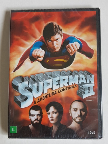 dvd superman 2 a aventura continua original lacrado