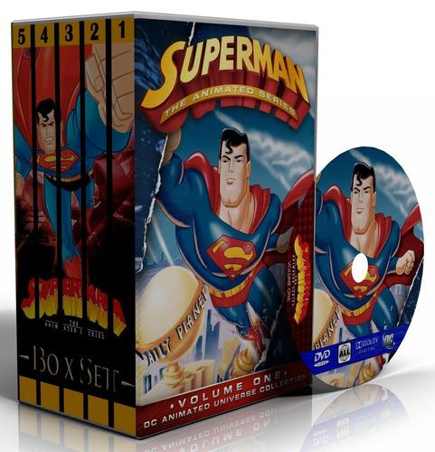 dvd superman: a série animada - edição completa + filme