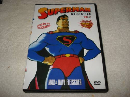 dvd superman collection volume 1 edição de colecionador
