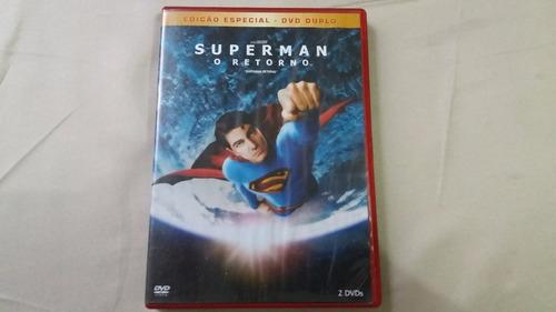 dvd superman o retorno duplo