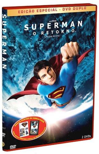 dvd superman o retorno edição especial duplo lacrado/novo