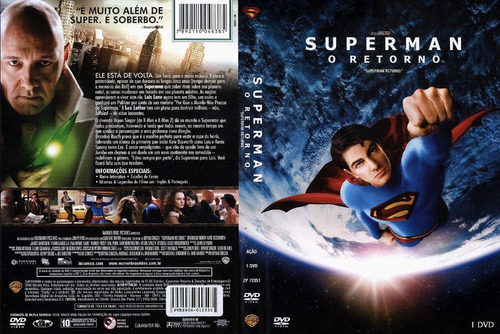 dvd superman - o retorno - lacrado (2006)