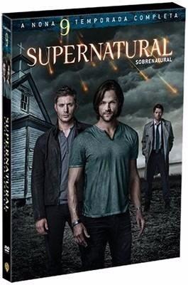 dvd supernatural - sobrenatural - 9ª temporada - 6 discos