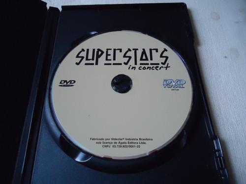 dvd - superstars in concert   -  rock
