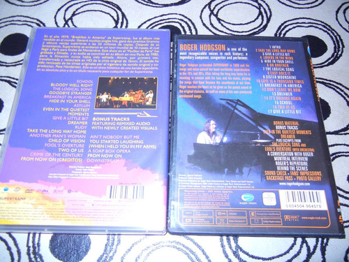 dvd-supertramp-paris-roger hodgson-live in montreal