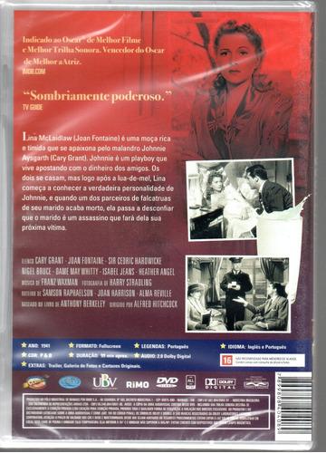 dvd suspeita de alfred hitchcock classicline - bonellihq m20