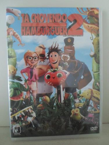 dvd tá chovendo hamburguer 2 - original