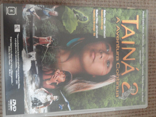 dvd- tainá 2- a aventura continua