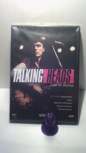 dvd - talking heads live in roma -  dvd original