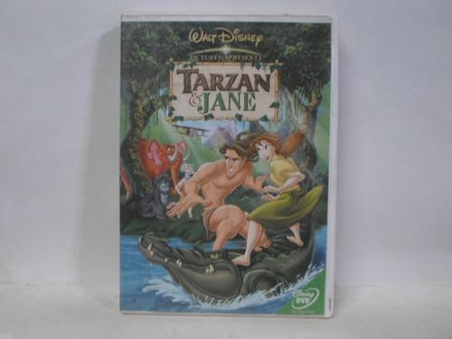 dvd tarzan & jane - original - usado