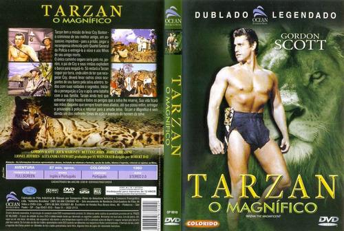 dvd tarzan o magnifico gordon scott dublado/legendado