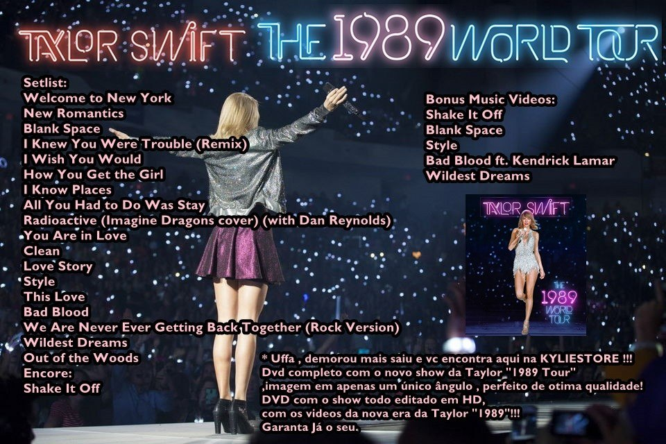 Taylor Swift  Tour Dvd