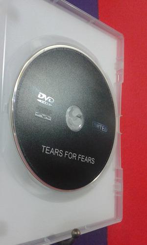 dvd tears for fears (ao vivo)