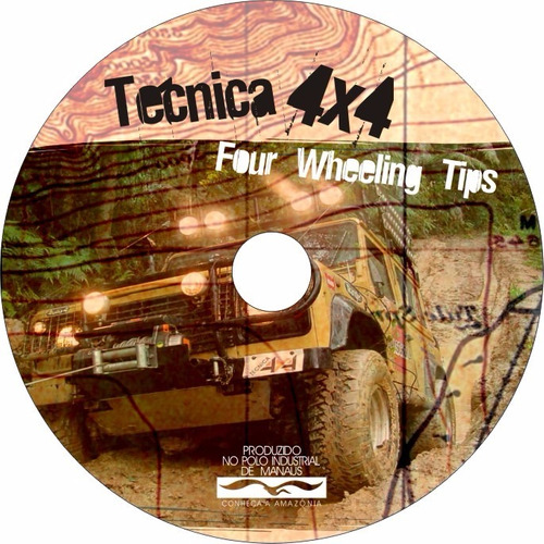 dvd técnica 4x4 - four wheeling tips - condução off-road