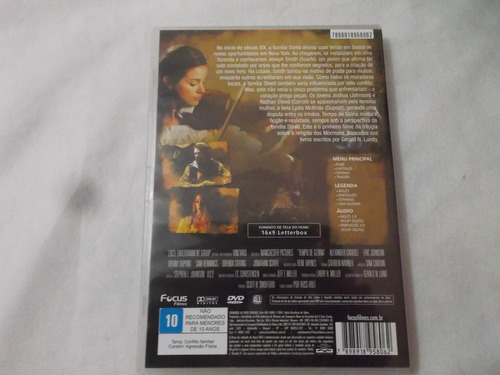 dvd tempo de gloria eric johnson