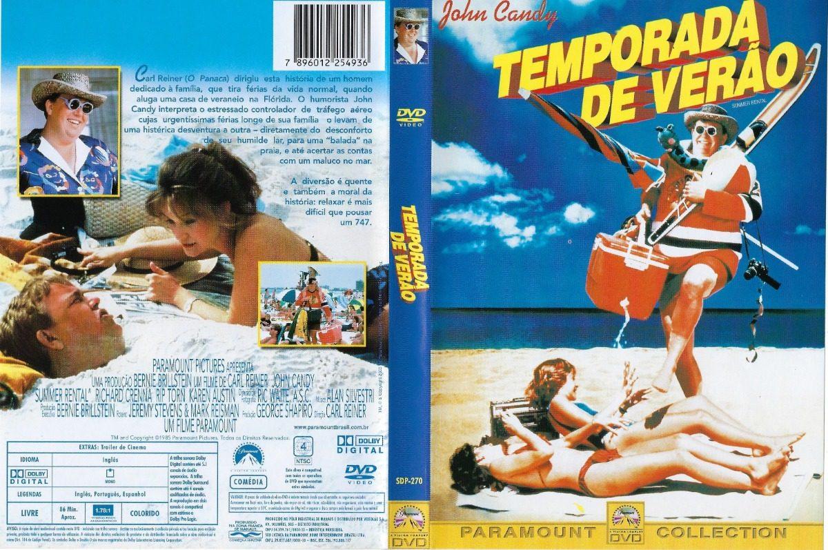 Dvd Temporada De Verão (1985) John Candy- Dublagem Clássica - R ...