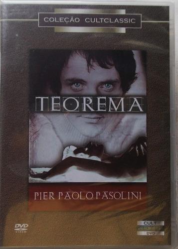 dvd teorema coleção cult classic pier paolo pasolini lacrado
