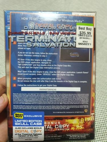 dvd terminator original coleccionable cuotas+envio