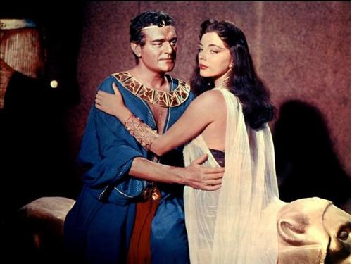 dvd terra dos faraós, howard hawks, com joan collins, 1955 +