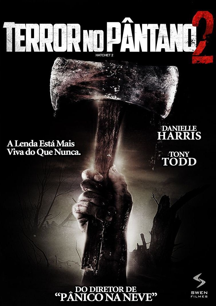 filme terror no pantano dublado