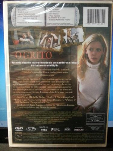 dvd terror: o grito - sarah michele gellar - frete grátis
