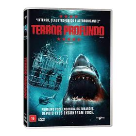 Dvd Terror Profundo Filme Original Lacrado Dublado (2018)