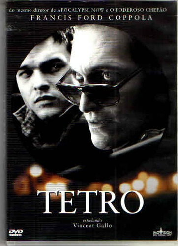 dvd tetro -vincent gallo -francis ford coppola original