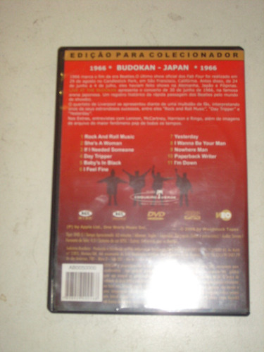 dvd the beatles live at budokan 1966 la ciudad de la plata