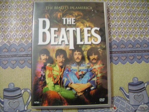 dvd  the beatles  the beathes in america