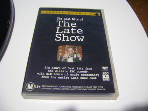 dvd the best bits of the late show dvd duplo importado