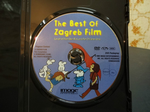 dvd the best of zagreb film laugh  at your own risk usado
