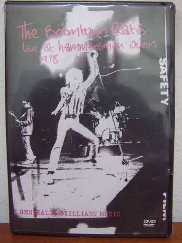 dvd the boomtown rats - live at hammersmith odeon 1978 raro