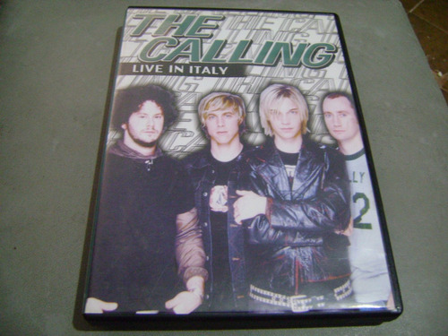 dvd the calling live in italy