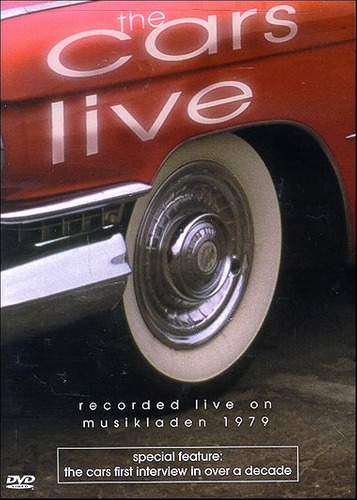 dvd the cars - live on musikladen 1979