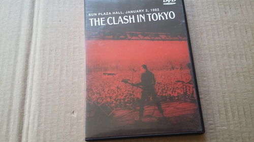 dvd the clash in tokyo