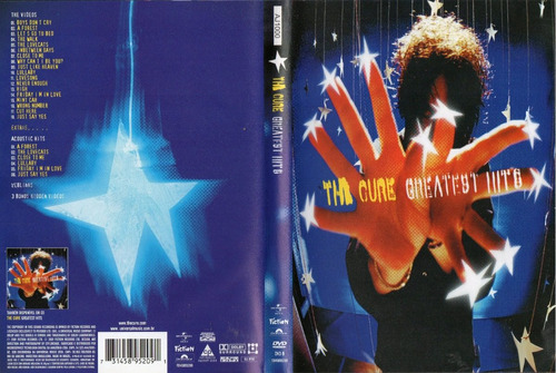 dvd the cure - greatest hits