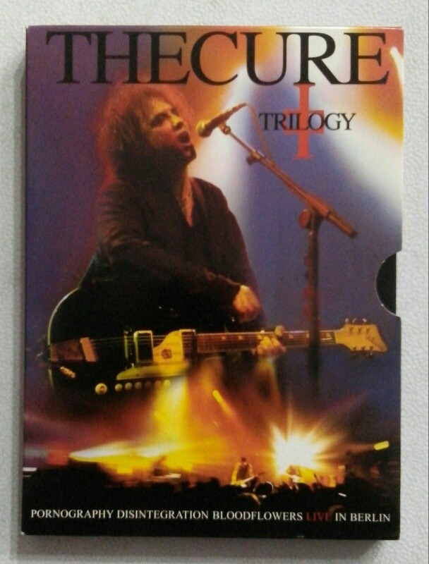 Dvd The Cure Trilogy Live In Berlin
